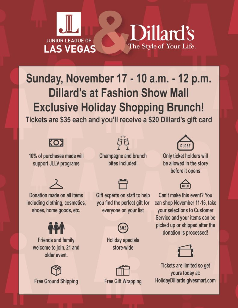 Holiday Shopping Flyer